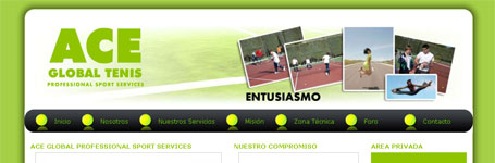 Ace Global Professional Sport Services - MRcreativos